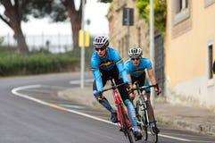 Ondergeschikt UCI-Wereldkampioenschap Stock Fotografie