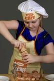 Ondergeschikte Chef-kok Royalty-vrije Stock Foto