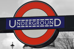 ondergronds Royalty-vrije Stock Foto