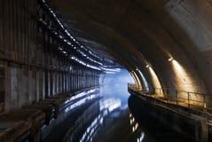 Ondergronds dok Stock Afbeeldingen
