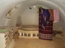 Ondergronds huis Stock Foto's