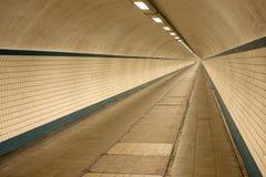 Ondergronds zebrapad in Antwerpen stock afbeelding