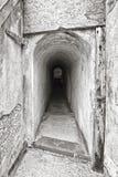 Ondergrondse bunker Royalty-vrije Stock Foto's