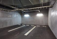 Ondergrondse de Garage van het parkeren Royalty-vrije Stock Afbeelding