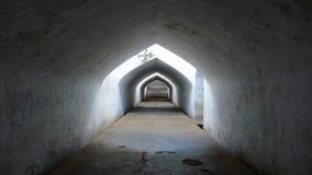 Ondergrondse gangtunnel Stock Afbeelding