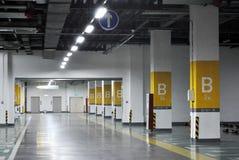 Ondergrondse garage royalty-vrije stock foto