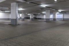 Ondergrondse garage stock fotografie