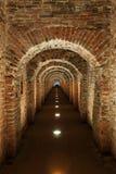 Ondergrondse geheime passage Stock Foto