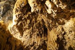 Ondergrondse grottes stock foto