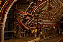 Ondergrondse kabels Royalty-vrije Stock Foto's