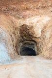 Ondergrondse mijn stock foto