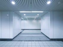 Ondergrondse passage Royalty-vrije Stock Afbeelding