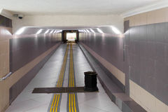 Ondergrondse passage stock foto