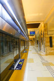 Ondergrondse post Tint in blauw Royalty-vrije Stock Foto