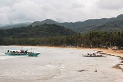 Ondergrondse rivier in Puerto Princesa stock afbeeldingen