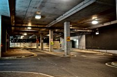 Ondergrondse Streetscape royalty-vrije stock foto