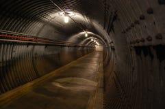 Ondergrondse tunnel Royalty-vrije Stock Afbeelding