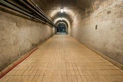 Ondergrondse Tunnel Royalty-vrije Stock Fotografie