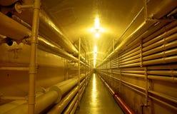 Ondergrondse Tunnel Royalty-vrije Stock Foto's