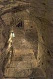 Ondergrondse Valletta royalty-vrije stock fotografie