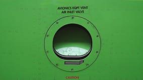 Onderhoud van vliegtuigen Ventilatiecontrole Reparatie van de vliegtuigen 4K stock video
