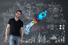 Ondernemerschapsconcept stock fotografie