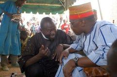 Onderneming van een gebruikelijke leider in Burkina Faso Royalty-vrije Stock Fotografie