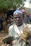Onderneming van een gebruikelijke leider in Burkina Faso Royalty-vrije Stock Afbeeldingen