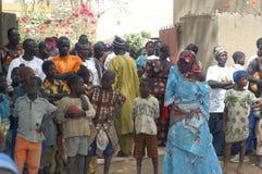 Onderneming van een gebruikelijke leider in Burkina Faso Stock Foto's