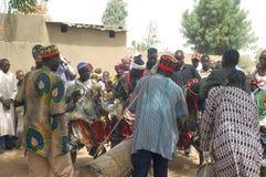 Onderneming van een gebruikelijke leider in Burkina Faso Stock Fotografie