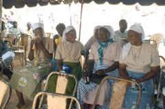 Onderneming van een gebruikelijke leider in Burkina Faso Royalty-vrije Stock Foto's
