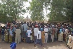 Onderneming van een gebruikelijke leider in Burkina Faso Stock Afbeeldingen