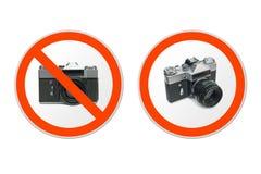 Onderteken Geen Fotografie Stock Foto's