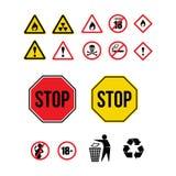 Onderteken pictogram Stock Afbeelding