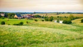 Onderverdeling in landelijk Kentucky Stock Fotografie