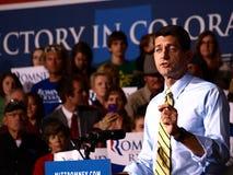 Ondervoorzitter Candidate Paul Ryan Stock Afbeeldingen