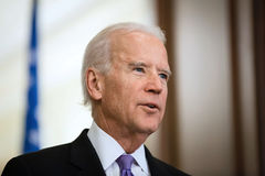 Ondervoorzitter van de V.S. Joe Biden Stock Foto