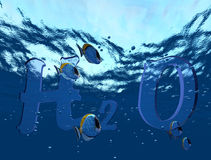 onderwater stock illustratie