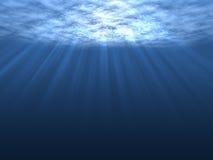 Onderwater royalty-vrije illustratie