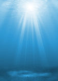 Onderwater achtergrond Stock Foto