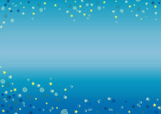 Onderwater achtergrond Royalty-vrije Stock Afbeeldingen