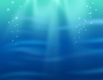 Onderwater achtergrond Stock Afbeeldingen