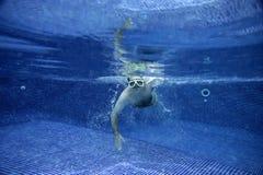 Onderwater beeld Stock Fotografie