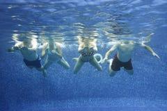 Onderwater beeld Royalty-vrije Stock Afbeeldingen