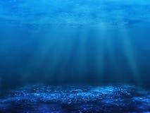 Onderwater bodem stock illustratie