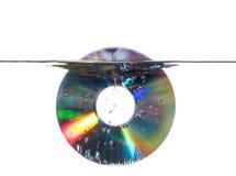 Onderwater CD Stock Afbeelding