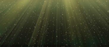 Onderwater groen Royalty-vrije Stock Afbeelding