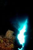 Onderwater hol Stock Foto