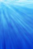 Onderwater licht Royalty-vrije Stock Fotografie