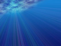 Onderwater mening Royalty-vrije Stock Afbeeldingen